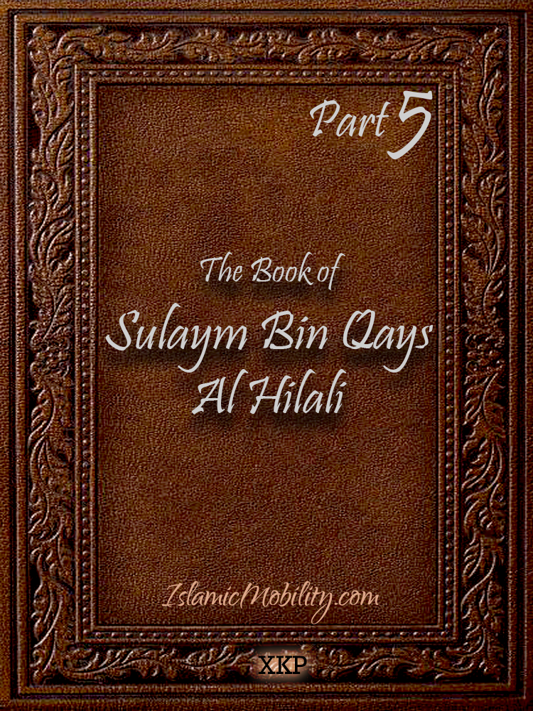 The Book of Sulaym Bin Qays Al Hilali - Part 5