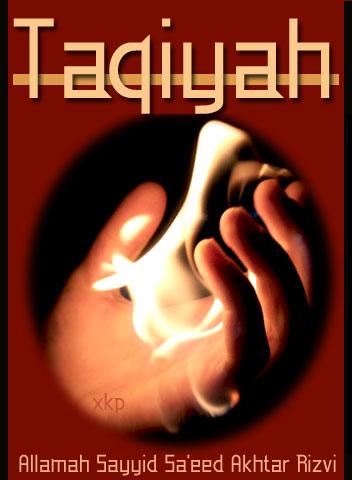 Taqiyah (Dissimulation)