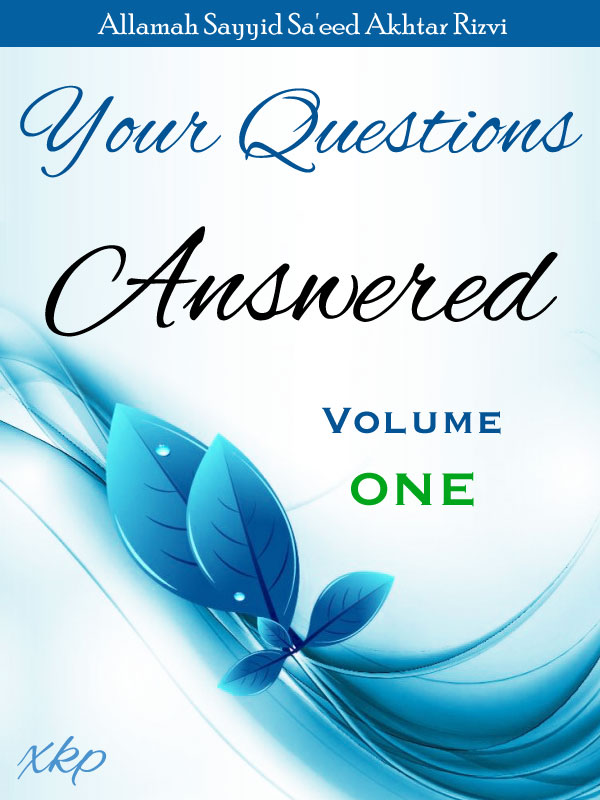 Your Questions Answered - Volume 1